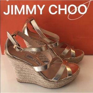⭐️JIMMY CHOO WEDGES 💯AUTHENTIC
